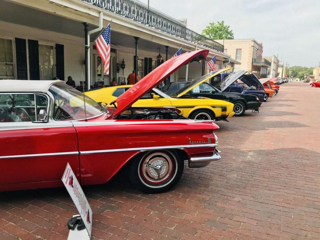 Outlaw Nationals Car Show, Jefferson. Texas